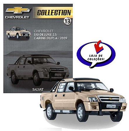 Chevrolet S10 Deluxe 2.5 Cabine Dupla - 2009 - Chevrolet Collection #13 - Escala 1/43 - Salvat
