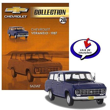 Chevrolet Veraneio - 1987 - Chevrolet Collection #28 - Escala 1/43 - Salvat