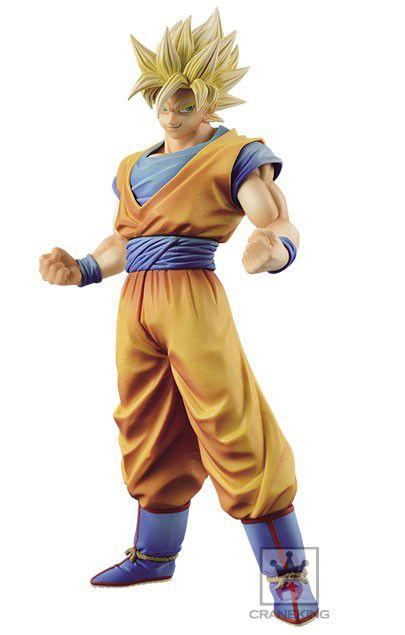 Son Goku SSJ - Dragon Ball Z - Master Stars Piece -King  of  Colouring Banpresto