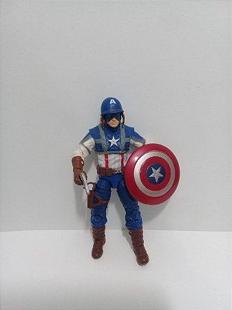 Hasbro Marvel Universe Capitão América 2ª Guerra Loose