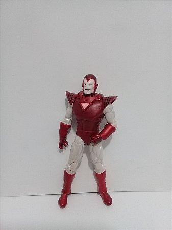 Hasbro Marvel universe Iron Man (homem De Ferro) Silver Centurion Loose
