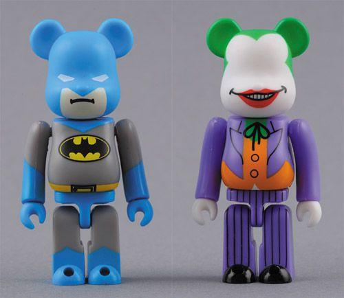 Medicom Toy Bearbrick Batman e Joker