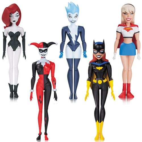 DC Batman New Adventures / The Animated Series Figures Girls Night Out