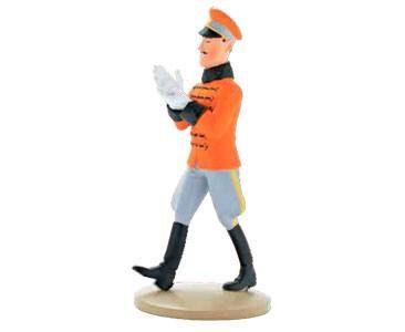 O Rei Muskar Calça as luvas - Figuras de TINTIN - A Coleção Oficial - #20 - Planeta DeAgostini