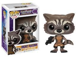Rocket Racoon - Gardiões da Galaxia - Funko Pop