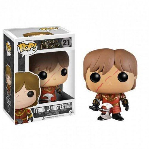 Tyrion Lannister in Batle Arms - Game Of Thrones - Funko Pop!