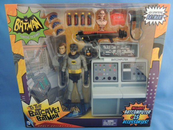 Batman 1966 - To The Batcave - Batman Classic TV Series - Mattel