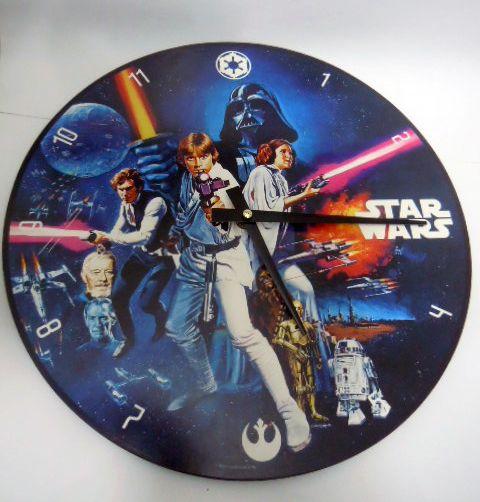 Relógio de Parede  - Star Wars Eps. 04 - Uma Nova Esperança