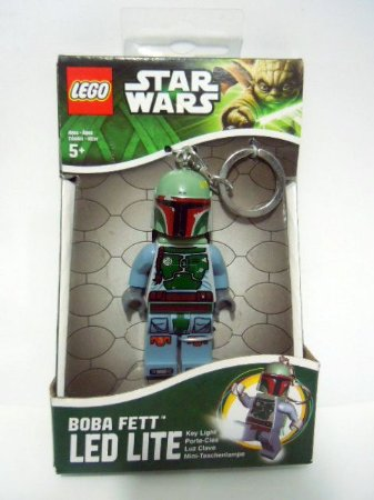 Lego Star Wars Led Elite Boba Fett Chaveiro Com luz