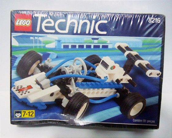 Lego Technic 8216 - Team Octan Racer  - 91 Peças