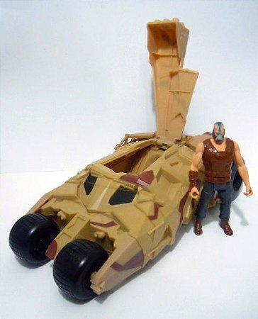 Mattel Batman Dark Knigth Rises Bane e Thumbler Loose