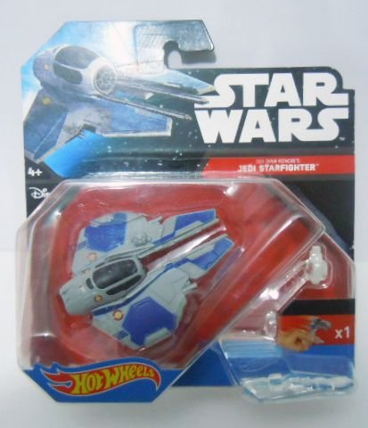 Jedi Starfighter - Star Wars - Hot Wheels Starships