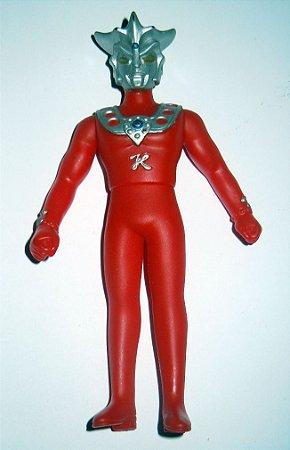 Ultraman Leo - 13 cm  -  Polivinil - 1990 - BANDAI