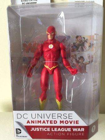 DC Colletibles Justice League War Animated Movie Flash