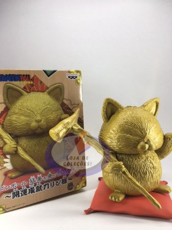 Banpresto Dragon Ball Mestre Karin Lucky Cat Summer Figure Gold vers.