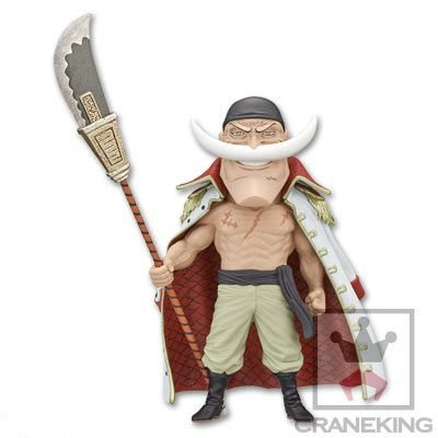 Banpresto One Piece WCF Mega Edward New Gate Shirohige Barba Branca