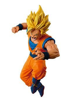 Son Goku SSJ 2 Attack - Dragon Ball Z - Scultores Big  6 - Banpresto