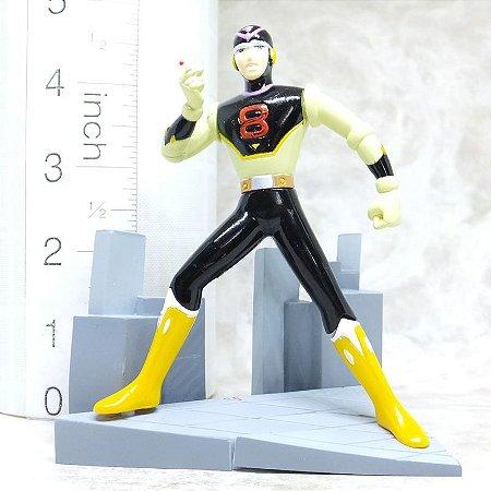 Oitavo Homem  (8th Man) - Gashapon - Diorama - Yujin