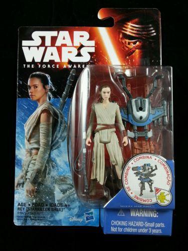 Rey - Starkiller Base - Star Wars - O Despertar da Força -  Hasbro