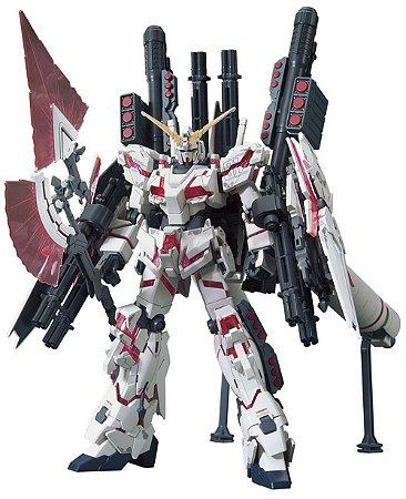 Bandai HG RX-0 Full Armor Unicorn Gundam [Destroy Mode/ Red Color Vers] 1/144 Model Kit