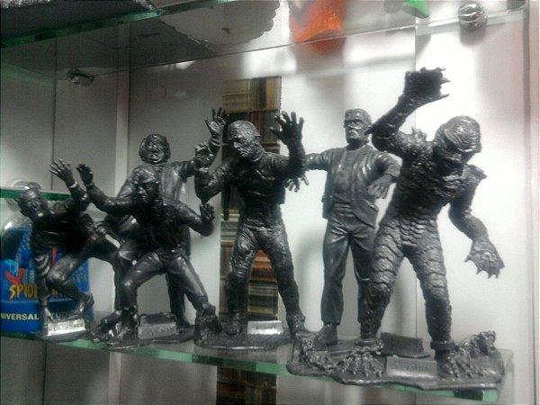 Marx Toys Coleção Monstros Da Universal Loose