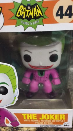 Funko Pop!  DC Batman Classic TV Coringa (Joker) 1966