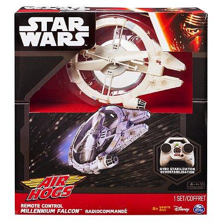Millenium Falcon - Controle Remoto - Star Wars - Air Hogs - Disney Store