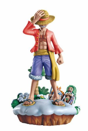 Luffy - One Piece -  Diorama - Log Box - Megahouse
