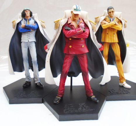 Banpresto DX Grandline Men One Piece Aokiji Akainu Kizaru Almirantes
