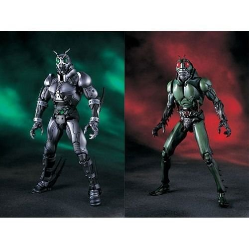 Bandai S.I.C Vol 17 Kamen Rider Shadow Moon & Black