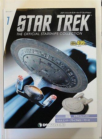 U.S.S.I Enterprise NCC-1701 - Star Trek - Die Cast - The Official Starships Collection - Vers JP - Planeta DeAgostini
