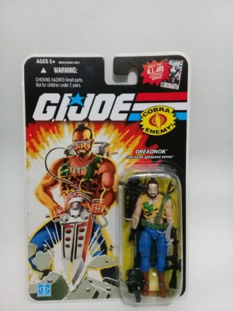 Hasbro G.i.Joe 25th Dreadnok Ripper GiJoe 25th