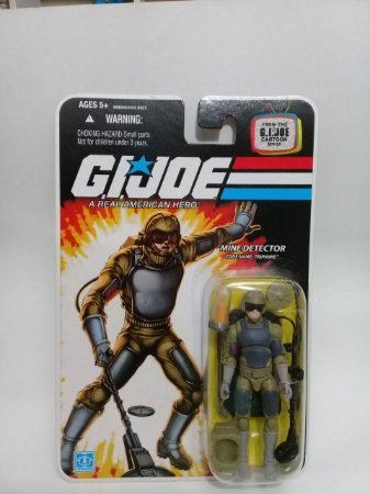 Mine Detector Tripwire - Gi Joe 25th - Hasbro