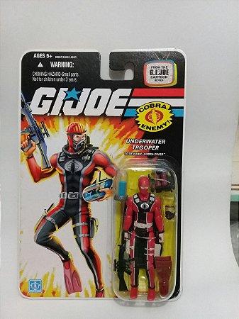 Hasbro G.i.Joe Underwater Trooper Cobra Diver Gijoe 25th