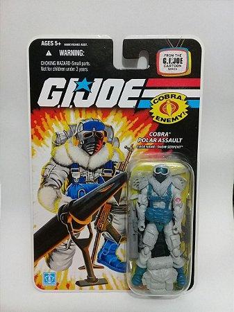 Hasbro G.i.Joe 25th Cobra Polar Assault Snow Serpent Gijoe 25th