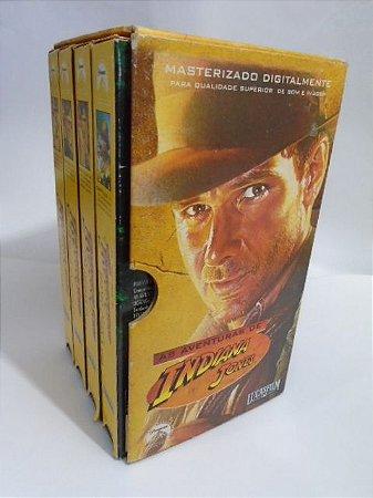Lucas Film Coleção VHS Indiana Jones - 3 Filmes + Extra Seriado Masterizado Digitalmente