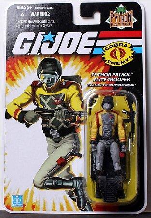Phyton Patrol Elite Trooper  Phyton Crimson Guard  Gi Joe 25th  Hasbro