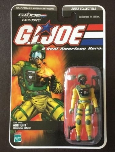 Hasbro G.i.Joe Chemical Officer Airtight Collector´s Club Exclusive 2008 Gijoe