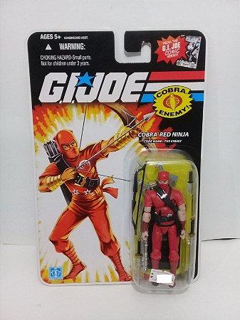 Hasbro G.i.Joe 25th Cobra Red Ninja Gijoe 25th