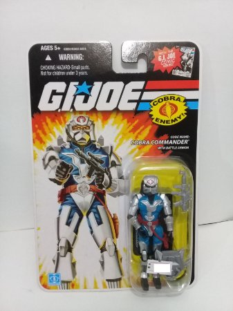 Hasbro G.i.Joe 25th Cobra Commander With Battle Armor Gijoe 25th