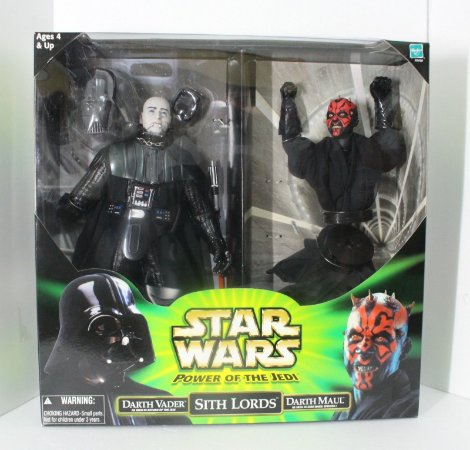 Star Wars - Sith Lords - Darth Vader Maul - Power Of The Force - Kenner
