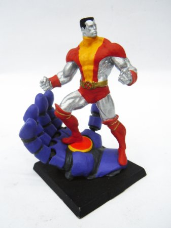 Miniatura X-Men Colossus Customizada em metal - Compatível coleção Eaglemoss
