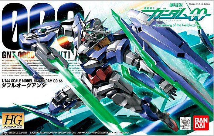 Bandai HG Gundam 00 QAN[T] (QUANTA , QUANT , QANT) GNT-0000 #66 1/144