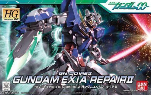 Gundam 00 Exia Repair 2  GN-00REII HG#44 1/144 Bandai