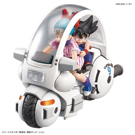 Dragon Ball Mecha Collection Vol.1 Bulma´s Capsule NO.9 Motorcycle Model Kit Non Scale Bandai