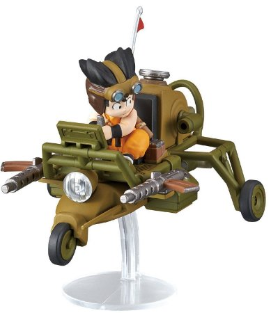 Dragon Ball Mecha Collection Vol.4 Son Gokou´s Jet Buggy Model Kit Non Scale Bandai