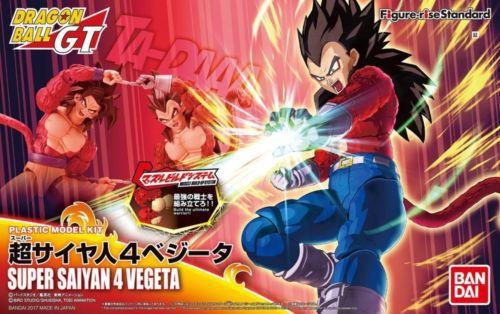 Dragon Ball GT Figure Rise Standard Vegeta SSJ4 Super Saiyan 4 Model Kit Bandai