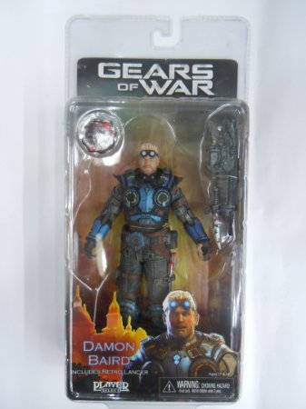 Neca Gears of War Julgamento Daimon Baird Action Figue