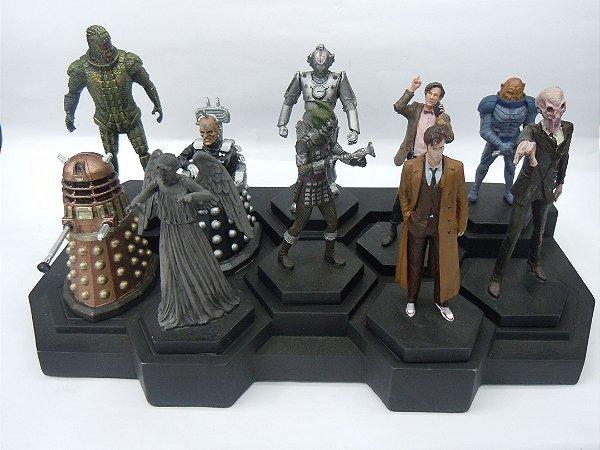 Doctor Who Conjunto com 10 Miniaturas Serie TV