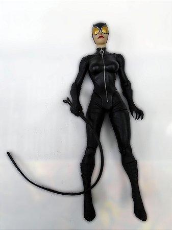 Mattel DC Batman Arkham Series Mulher Gato Catwoman Figure Loose